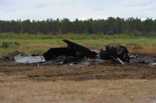U.S. Air Force F-22A Raptor Crashes Near Eglin Air Force Base