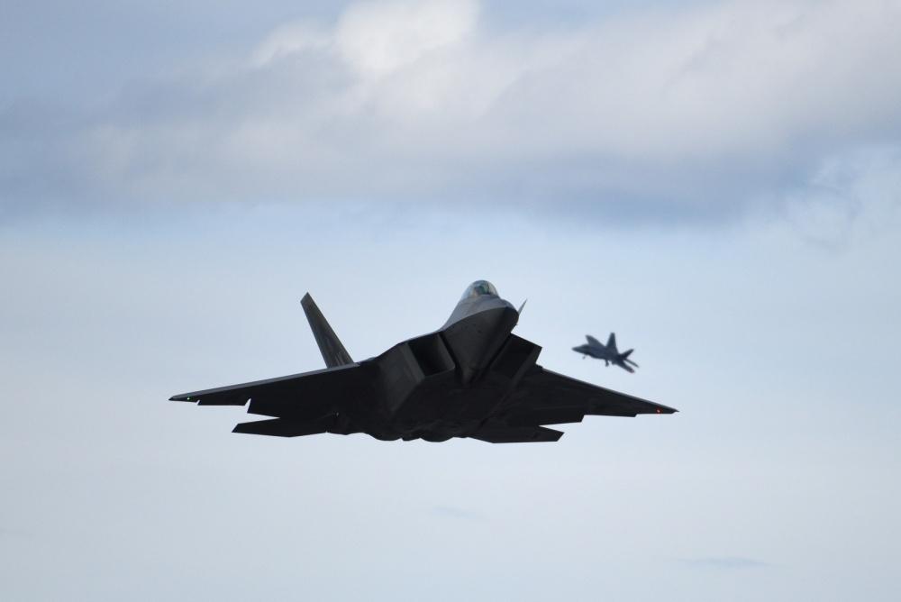 U.S. Air Force F-22A Raptor Crashes Near Eglin Air Force Base