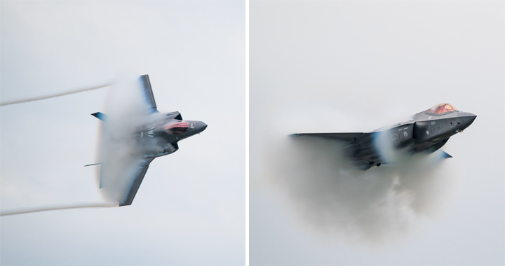 F-35 Pilot Share Details Of Two Supersonic Missions That Damage Stealth Fighter Jet