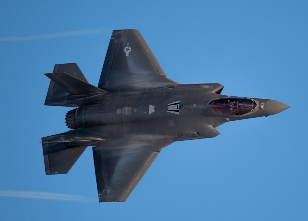 U.S. Air Force F-35A Demo Team Makes First-Ever Live Facebook Flight Demo
