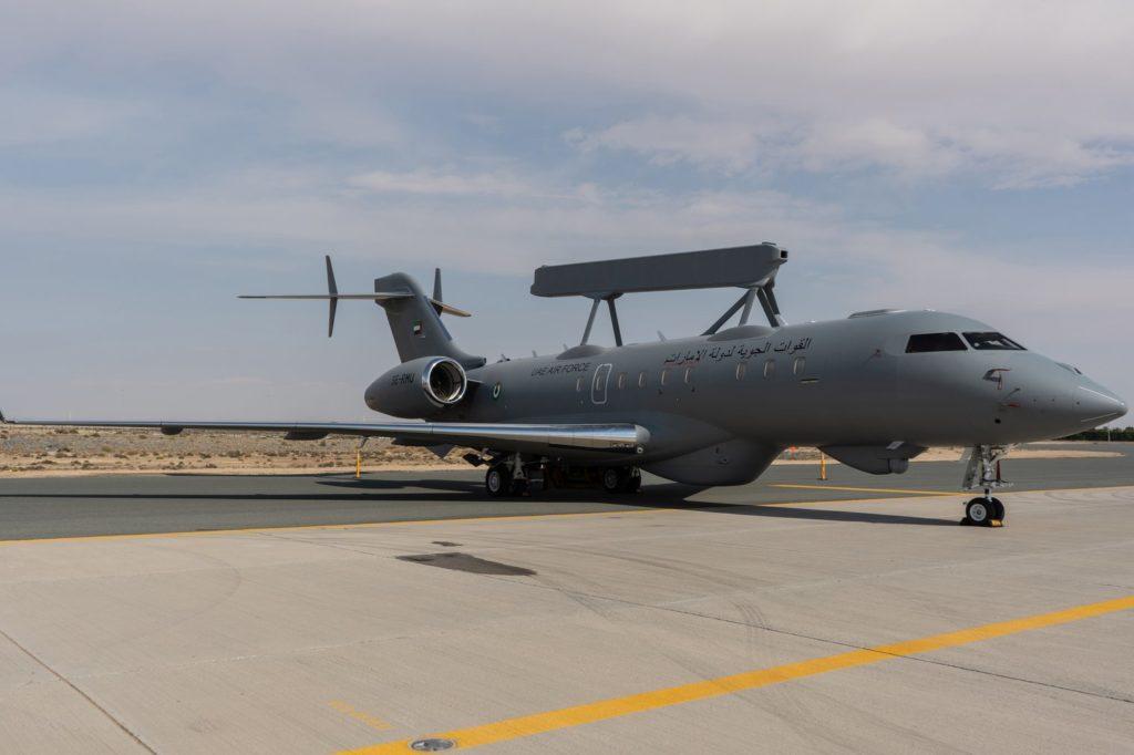 Saab Delivers First Global Eye AEW&C Plane To UAE