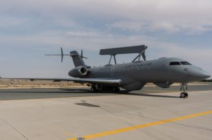 Saab Delivers First Global Eye AEW&C Plane To UAE