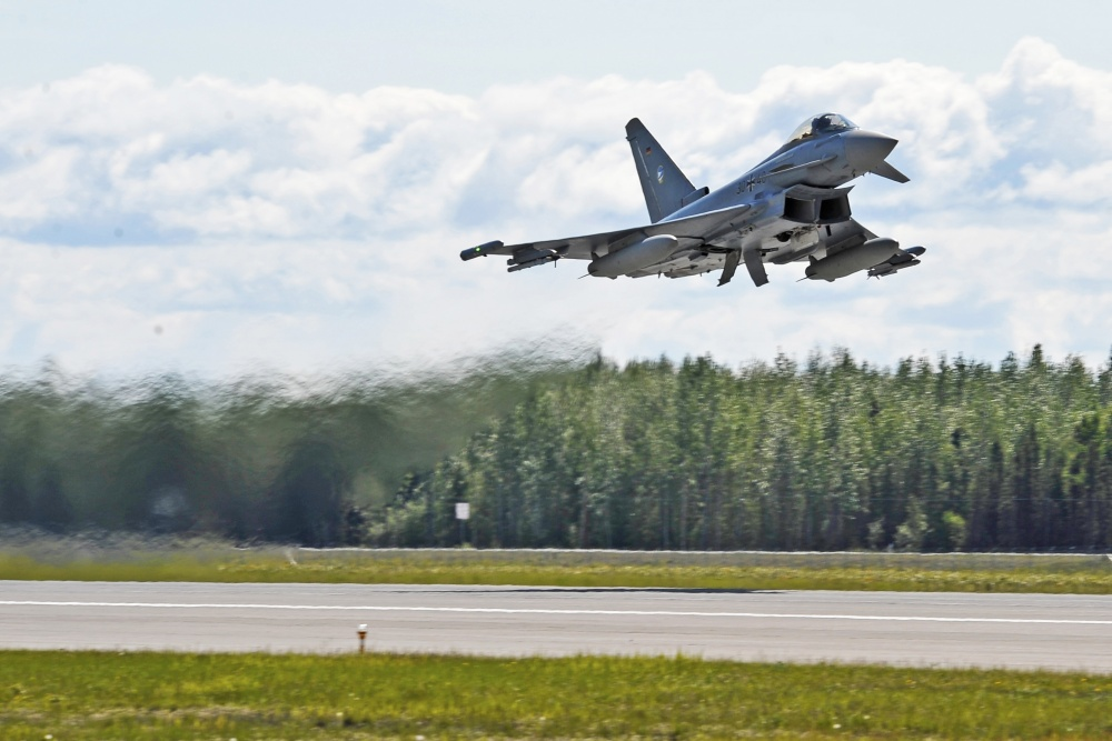 Germany Buying 38 New Tranche 4 Eurofighter Jets For €5.4 billion