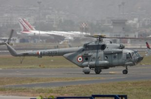 Indian Air Force Mi-17 Helicopter Crash Lands In Near Mukutang, Sikkim