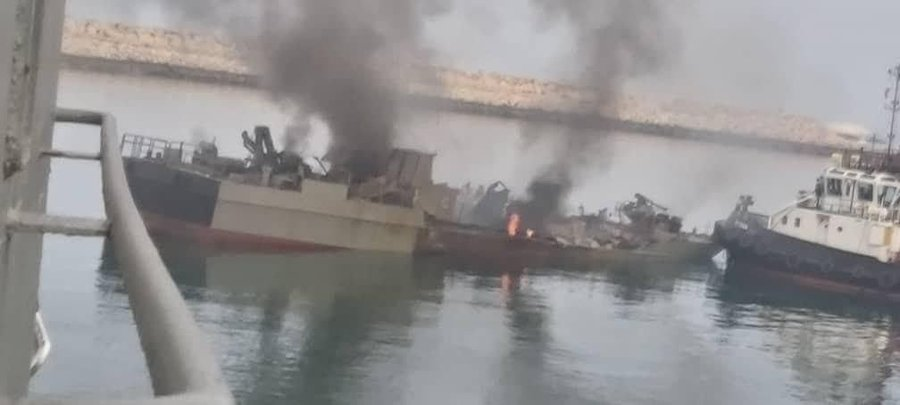 Iranian Navy Anti-ship Cruise Missile Accidentally Hit Own ship killing 19 sailors
