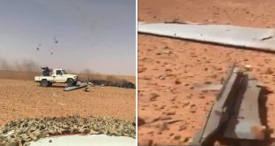 Libyan National Army Shot Down Military Drone In A Friendly Fire