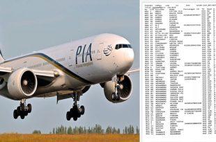 List Of All People On Board Crashed Pakistan International Airlines Flight PK-8303