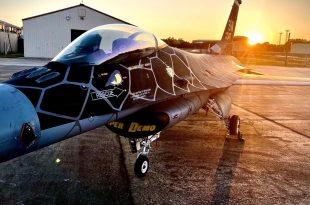"F-16 Viper Demo Team Unveils New Special Painted ""Venom"" JetThe new ""Venom"". (Image credit: USAF via Maj. Garret ""Toro"" Schmitz)"