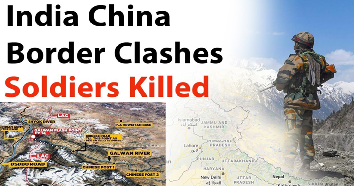 At Least 20 Indian Soldiers killed In Violent India-China Border Faceoff