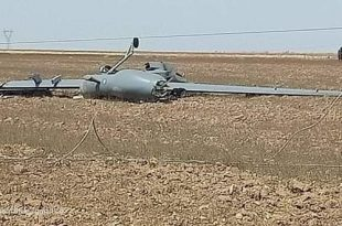 Algerian Air Force Chinese-made CASC CH-4B Drone Crashed Near Wilaya d'Oum el-Bouaghi
