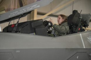 Callsign Banzai: U.S. Air Force First Woman To Fly F-35 Fighter Jet In Combat