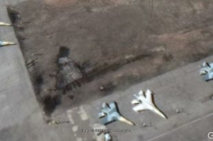 Satellite Imagery Spots Egyptian Air Force First Sukhoi Su-35 Fighter Jets