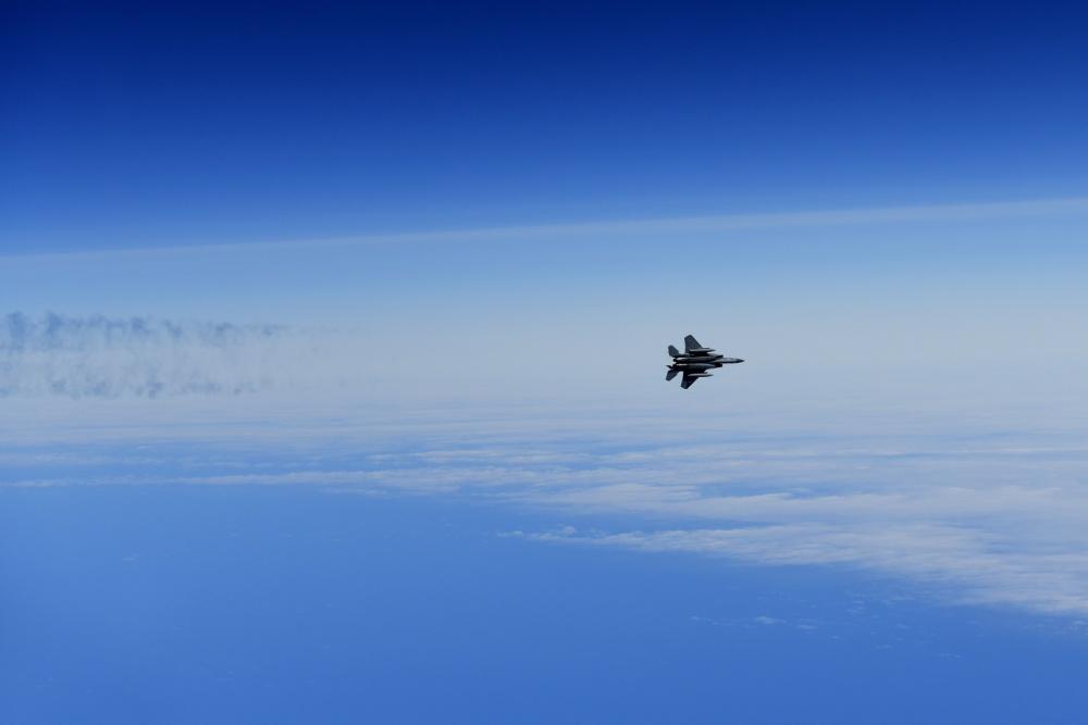 U.S. Air Force F-15C Eagle Crashed Into The North Sea, Pilot Dead