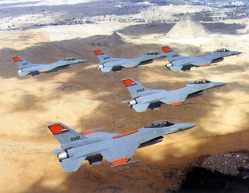 F-16 Without AMRAAM:  Egyptian Air Force Operates 220 F-16 Fighter Jets Without BVR Missiles