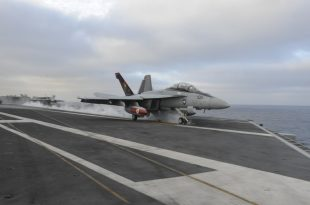 U.S. Navy F/A-18F Super Hornet From USS Theodore Roosevelt Aircraft Carrier Has Crashed In The Philippine Sea
