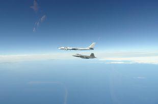 U.S. Air Force F-22s Intercept 8 Russian Bombers Near Alaska In Last 7 Days