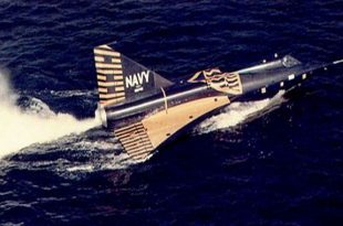 Convair F2Y Sea Dart: A Fighter Jet On Waterskis
