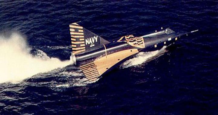 Convair F2Y Sea Dart: A Fighter Jet On Waterskis