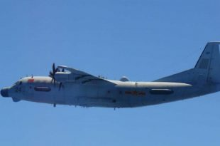 Japan Scramble Fighter Jets To Intercept PLANAF Shaanxi Y-9JB Electronic Surveillance Aircraft
