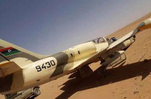Libya National Army Jet Made Emergency Landing Along Niger Border