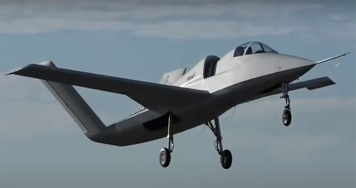 Mysterious U.S. Stealth Plane Model 401 Reportedly Makes Test Flight With NASA F-15 Escort