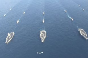 For The First Time In 3 Years, U.S. Navy Deploys 3 Aircraft Carriers In South China Sea