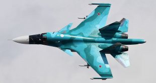 Russian Air Force Sukhoi Su-34 Crashed During Training Flight Crashed In Khabarovsk Krai