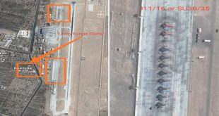 Satellite Imagery Shows PLAAF Fighter Jets Deployment Along The LAC