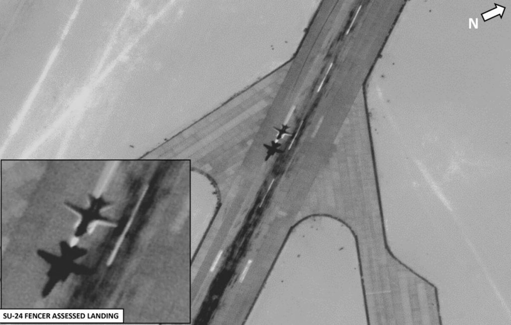 USAFRICOM Releases New Evidence Of Recently Arrived Russian aircraft In Libya