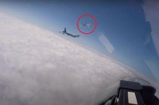 Russian Su-27 Fighter Jet Violates Danish airspace Following U.S. Air Force B-52 Bomber