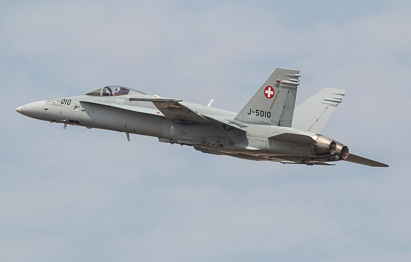 Swiss Air Force Fighter Jet Pilot Faces Charges Over 2015 F/A-18 Crash