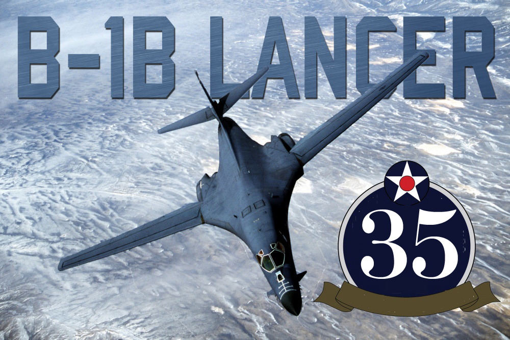 35 Years Ago Today U.S. Air Force Received First Operational Rockwell B-1B Lancer Bomber