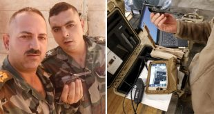 Syrian Army Troops Captured U.S. military Black Hornet Nano Spy Drone