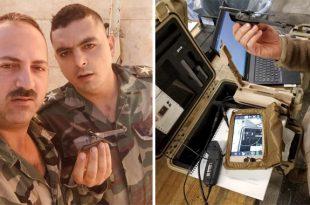Syrian Army Troops Captured U.S. military Black Hornet Nano Spy Drone