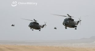 Chinese Army Helicopters Spotted Performing Extremely Low Altitude Penetration Flight Training Near China-India Border