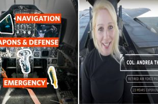 Fighter Pilot Explains Functions Of Every Button In F-15 Eagle's Cockpit