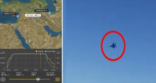 U.S. Air Force F-15s Intercepted Iranian Airliner Flying Near U.S. Base In Syrian Airspace