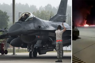 U.S. Air Force F-16CM Fighting Falcon Crashes At Shaw Air Force Base, Pilot Dead