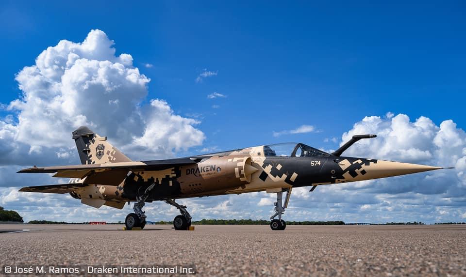 First Mirage F1M Jet In Digitized Camouflage Scheme Destined For Aggressor Duty