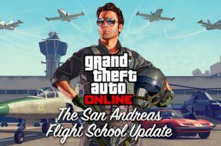 Improve Your Flying Skills At The Flight School Of GTA Online