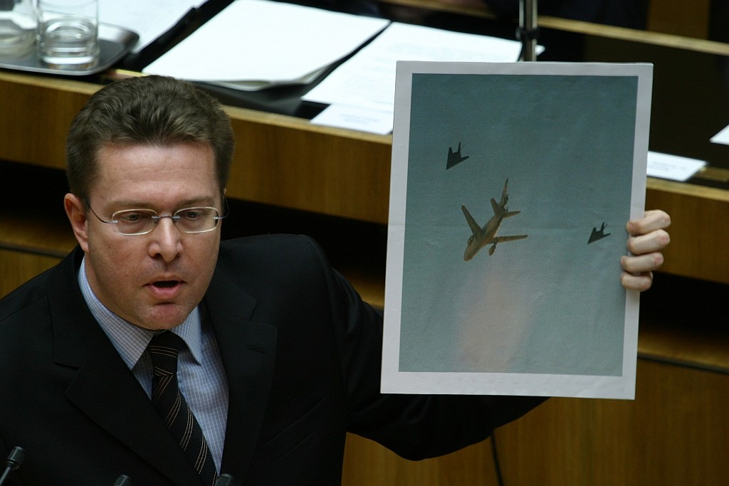 When U.S. Air Force Got Caught Trying To Sneak F-117s Stealth Fighter Through Austrian Airspace