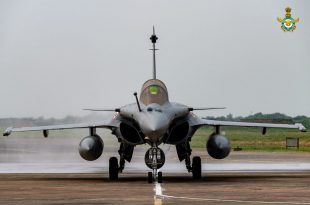 India's First Dassault Rafale Fighter Jet Arrive At IAF Ambala Air Force Station
