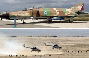 That Time Israeli F-4 Jet Shot Down 14 Egyptian Mi-8 Helicopters In A Single Day