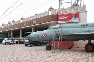 Indian MIG-21 Fighter Aircraft Spotted Outside a Dhaba In Haryana