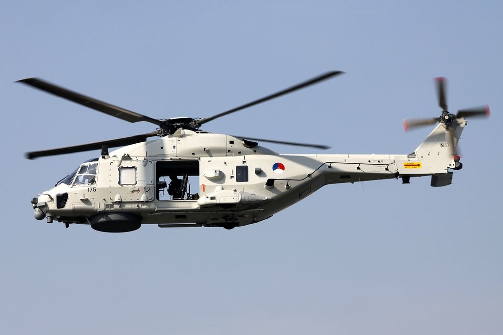 Royal Netherlands Air Force NH90 Helicopter Crashed Into Sea, 2 Dead & 2 Rescued