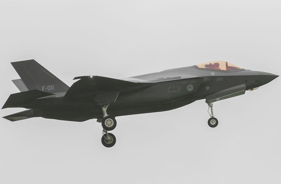 Netherlands Air Force Received New F-35A Lightning II Stealth Fighter Jets