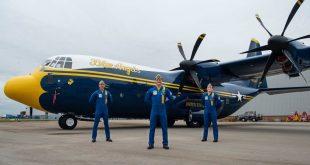 Here's U.S. Navy's Blue Angels New Fat Albert
