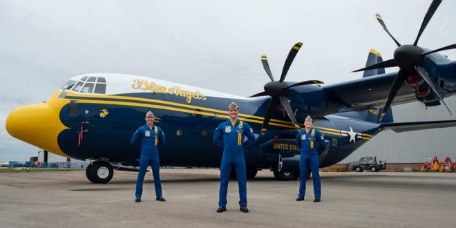 Here's U.S. Navy's Blue Angels New Fat Albert