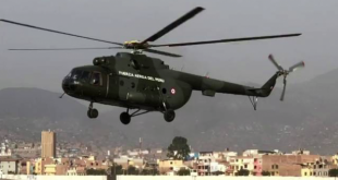 Peruvian Air Force Mil Mi-17 Helicopter With Four Crew Members On Board Crashed In A River In The Amazonas