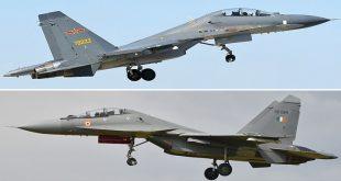 IAF's Sukhoi Su-30MKI Vs PLAAF's Sukhoi Su-30 MKK/MK2